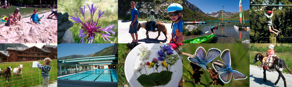 Summer activities for families with children in Sainte Foy